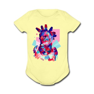 HARPY EAGLE - Short Sleeve Baby Bodysuit