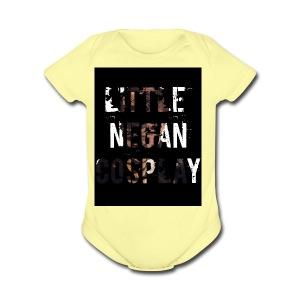 LittleNeganCosplay Contest Winner - Short Sleeve Baby Bodysuit