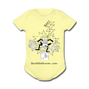 Conductor - Short Sleeve Baby Bodysuit