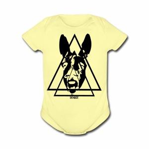 Donkey. - Short Sleeve Baby Bodysuit