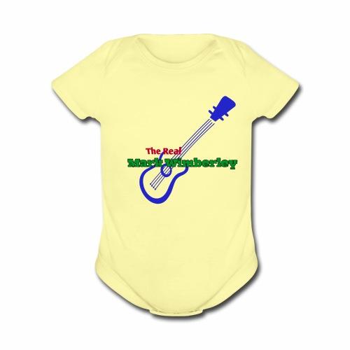 The Real Mark Wimberley Swag - Organic Short Sleeve Baby Bodysuit