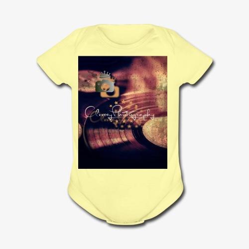 Vintage Album Brand - Organic Short Sleeve Baby Bodysuit
