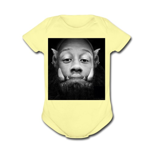 WAR CAFT - Organic Short Sleeve Baby Bodysuit