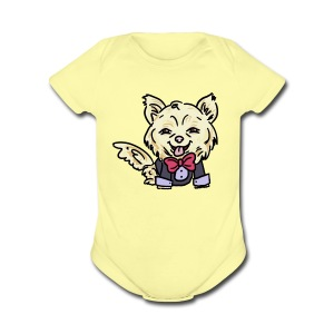 Gizmo the Chihuahua - Short Sleeve Baby Bodysuit