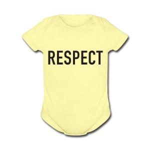 RESPECT - Short Sleeve Baby Bodysuit
