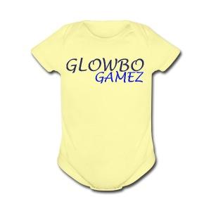 GlowBo's : The Fancy Fashion! - Short Sleeve Baby Bodysuit