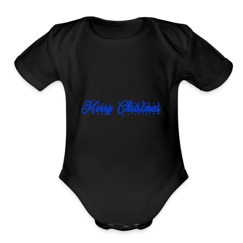 Christmas Design - Organic Short Sleeve Baby Bodysuit