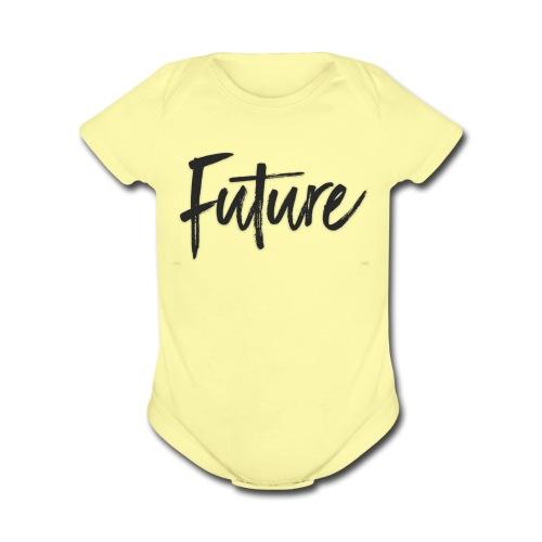 IMG 5187 - Organic Short Sleeve Baby Bodysuit