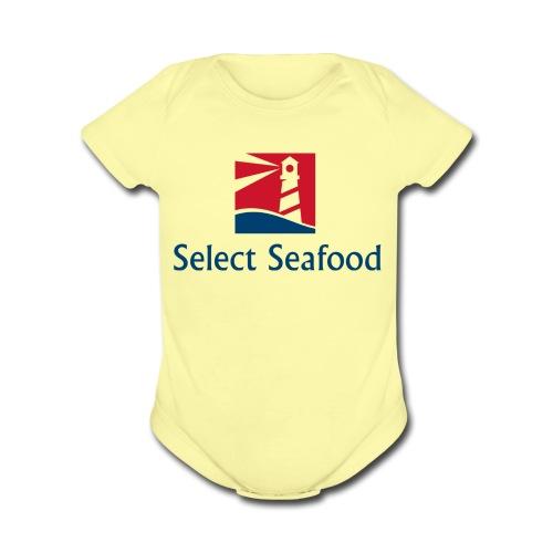 Select Seafood Merchandise - Organic Short Sleeve Baby Bodysuit