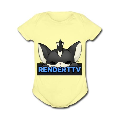 renderttv avatar - Organic Short Sleeve Baby Bodysuit