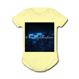 ClvssandFvshion - Short Sleeve Baby Bodysuit