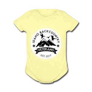 idaho hunting and fishing vets - Short Sleeve Baby Bodysuit