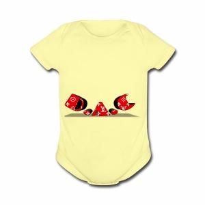 De & cam - Short Sleeve Baby Bodysuit