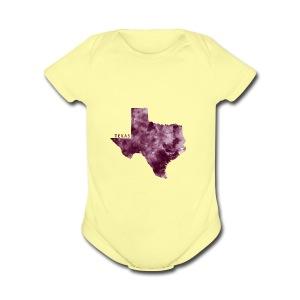 Texas - Short Sleeve Baby Bodysuit