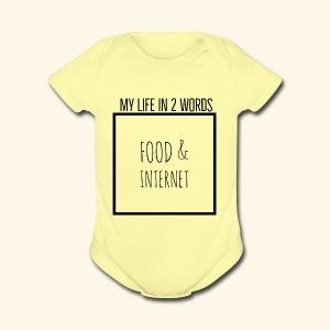 EB41B054 9076 4143 813B A25101C43DFA - Short Sleeve Baby Bodysuit