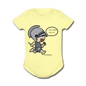 BABY berserker - Short Sleeve Baby Bodysuit