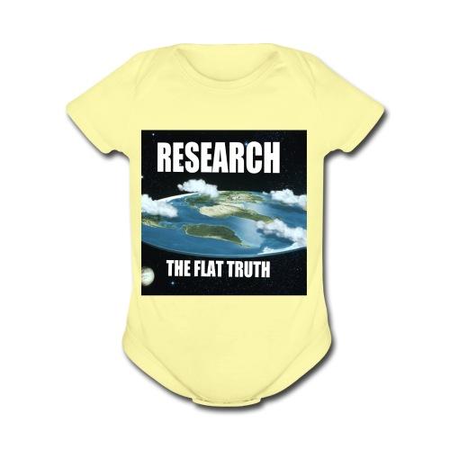 A2B166D6 D406 4074 85F5 85059530DE7A - Organic Short Sleeve Baby Bodysuit