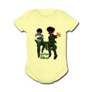 prince yt 334 super deux merchandise - Short Sleeve Baby Bodysuit