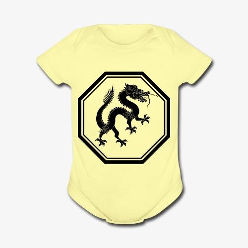 1200px Dragon svg - Organic Short Sleeve Baby Bodysuit