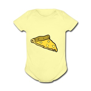 PineApple Pizza - Short Sleeve Baby Bodysuit