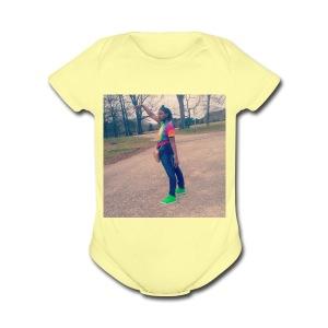 Joker.oriii - Short Sleeve Baby Bodysuit
