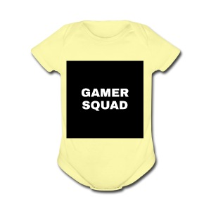 Gamer squad shirts - Short Sleeve Baby Bodysuit