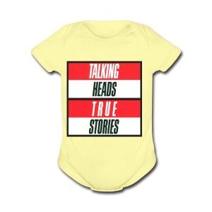 Talking Heads merch - Short Sleeve Baby Bodysuit