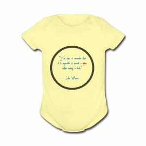 John Waters - Short Sleeve Baby Bodysuit