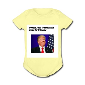 Only For Donald Trump Haters - Short Sleeve Baby Bodysuit