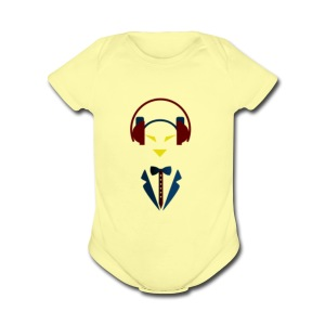Men who game - Short Sleeve Baby Bodysuit