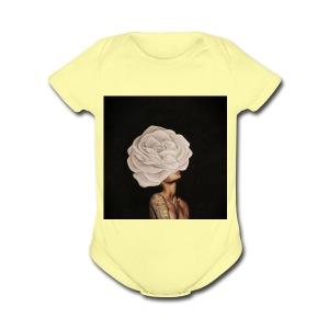 kimberly - Short Sleeve Baby Bodysuit