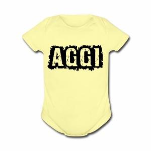 AGGI - Short Sleeve Baby Bodysuit