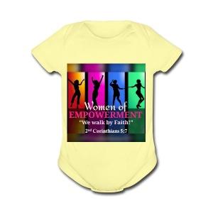 Woman Of Empowerment - Short Sleeve Baby Bodysuit