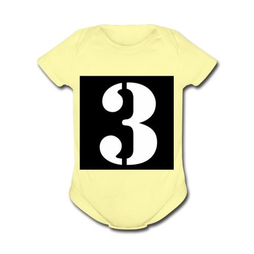 Team 3 - Organic Short Sleeve Baby Bodysuit