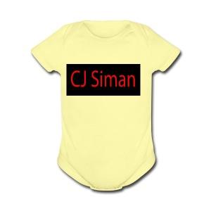 Design - Short Sleeve Baby Bodysuit