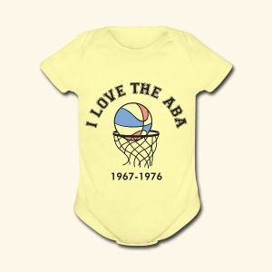 I Love the ABA - Short Sleeve Baby Bodysuit