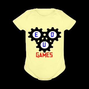 Gears - Short Sleeve Baby Bodysuit