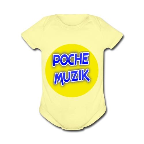 poche MUZIK - Cache-couche à manches courtes bio