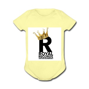 Royal Records Entertainment - Short Sleeve Baby Bodysuit