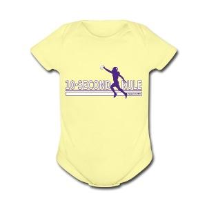 10 Second Rule (January 14, 2018) - Short Sleeve Baby Bodysuit