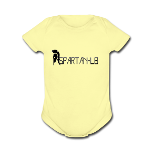 Spartanhub - Short Sleeve Baby Bodysuit