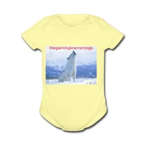 originail logo - Short Sleeve Baby Bodysuit