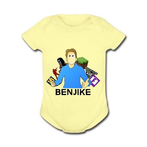 Gamer Benjike termékek - Organic Short Sleeve Baby Bodysuit