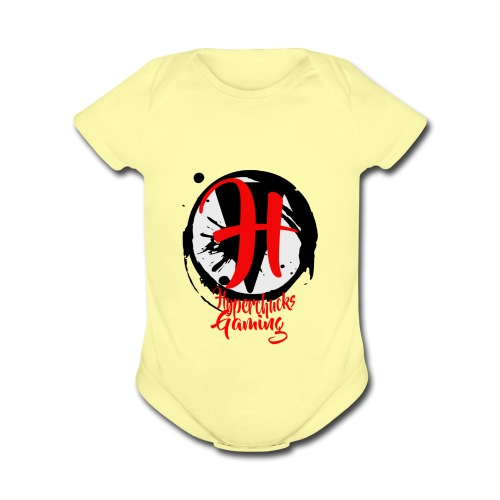 logo samples v5 - Organic Short Sleeve Baby Bodysuit