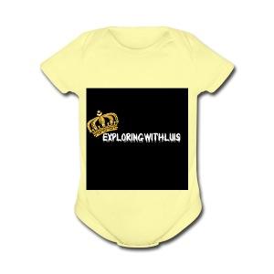 Exploring - Short Sleeve Baby Bodysuit