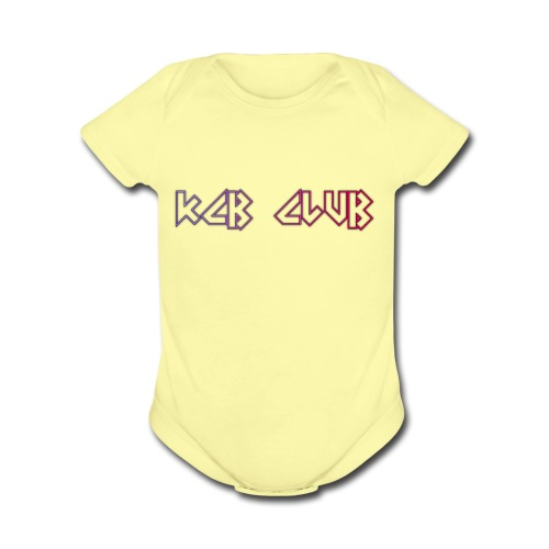 KCB CLUB - Organic Short Sleeve Baby Bodysuit
