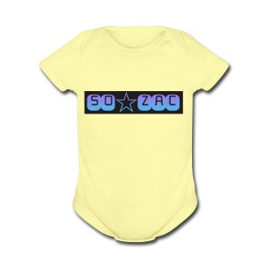 So zac - Short Sleeve Baby Bodysuit