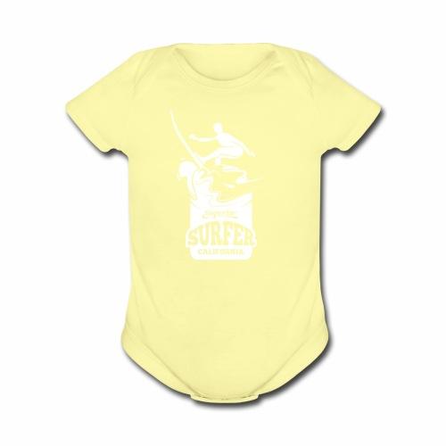 Superior - California Surfer - Organic Short Sleeve Baby Bodysuit