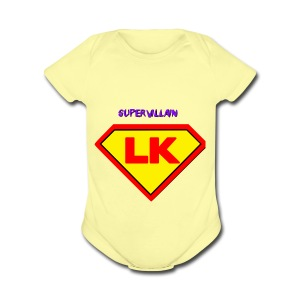 Supervillain by Lil Kodak - Short Sleeve Baby Bodysuit