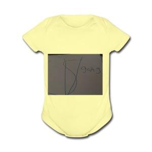 Sv gang kids hoodie - Short Sleeve Baby Bodysuit